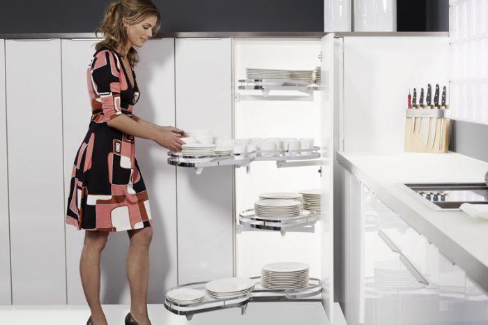 mueble de cocina sistema de bandejas extraibles